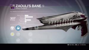 Zaouli's Bane.