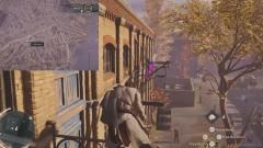 Пробегите по металлическим крюкам, торчащим из здания