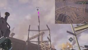 Совершите Прыжок Веры с самого верха металлической конструкции