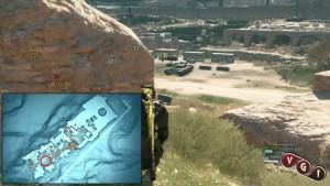 В начале нашего пути внутри базы мы найдём первый танк.