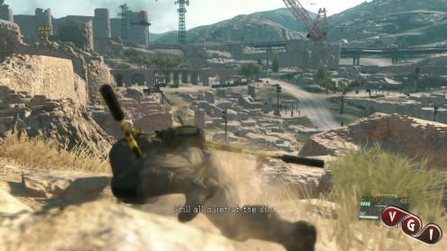 MGS 5 Phantom Pain Миссия Череп добраться до места