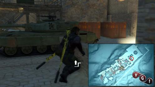 Metal Gear 5 миссия 30 Череп Извлечение 7 красных контейнеров