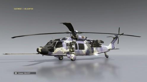 mgsv кастомизация вертолёта