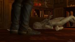 К сожалению, статуя окажется на полу в любом случае