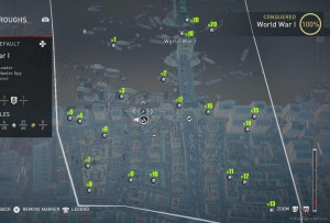 В южной части аномалии Первая Мировая Война можно найти 20 Незапертых сундуков