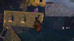 С помощью крюка, переместитесь с крыши на крышу
