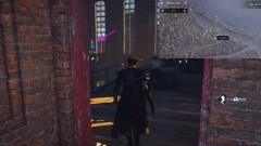 Аномалия находится внутри здания над лестничным проёмом