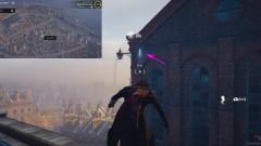 Перелетите на здание напротив, используя крюк
