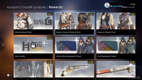 Награда Ubisoft Club в игре Assassin's creed: Syndicate