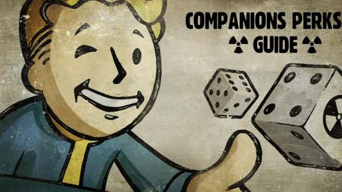 Перки и способности компаньонов напарников в Fallout 4