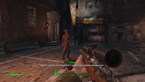 Fallout 4 Местонахождение Города Гулей Хэнкок напарник