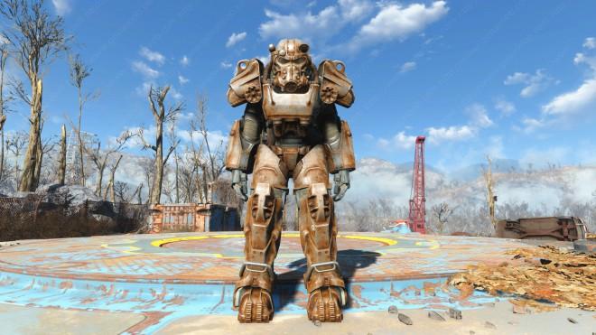 Fallout-4 Силовая броня Т-60