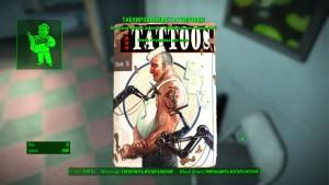 Журналы перков, табуированные татуировки