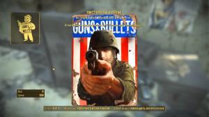 Журналы перков, пистолеты и пули