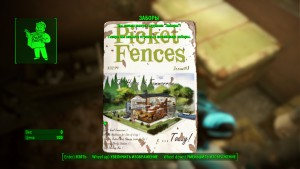 Fallout4 журнал Заборы где искать