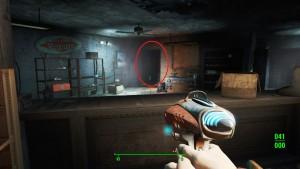 Fallout4 журнал заборы где лежит