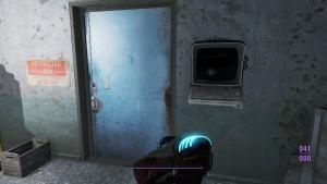 Откройте дверь с помощью терминала