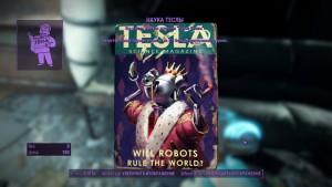 Fallout4 Местонахождение журнала перков Наука Теслы