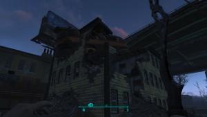 Дом расположен прямо на север от маркера станции. В нем застрял разбитый автобус. Журнал - на втором этаже, на матрасе.