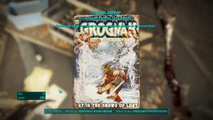 Fallout4 где найти журнал грогнак варвар