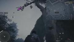 Спрыгните с дерева, которое находится на небольшом острове