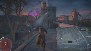 Спрыгните с указанного дерева на стену форта