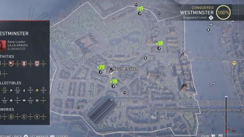 Карта всех Старинных Пивных Бутылок в районе Вестминстер