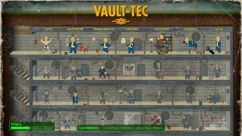 fallout 4 список способностей перки vgi