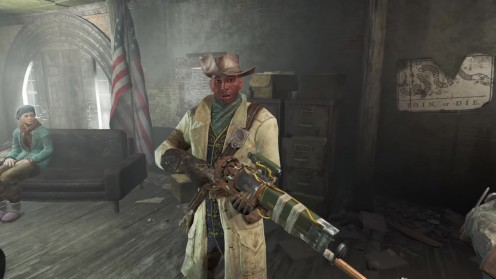 Fallout 4 Preston Garvey напарник отношения местонахождение