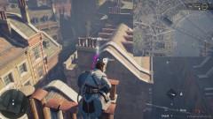 Перелетите с крыши на крышу используя крюк