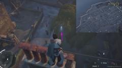 Перелетите через весь внутренний двор с помощью крюка