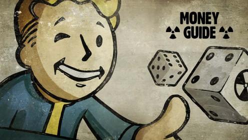 Fallout 4 как заработать денег, найти деньги, крышки