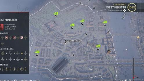 Карта всех Засушенных Цветов в районе Вестминстер