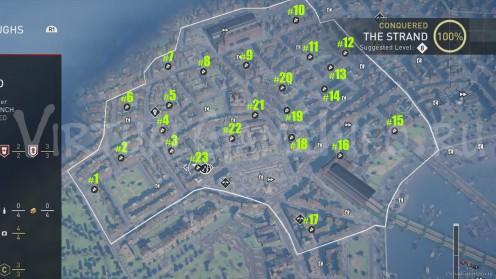 Карта Аномалий Helix / Хеликс в районе Стрэнд