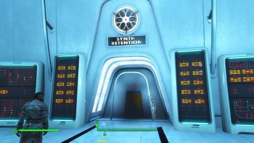 Fallout 4 Институт Где искать X6-88 Напарник
