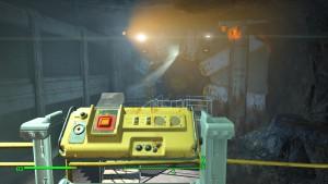 Кюри находится в секретной части Убежища 81.