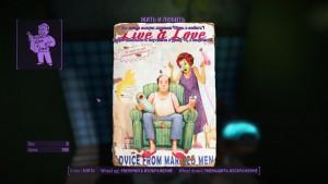 Fallout4 как найти журнал перков Жить и Любить