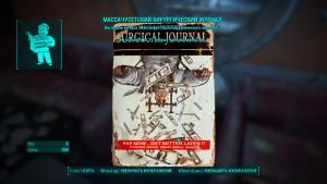 Fallout4 применение Массачусетский хирургический журнал