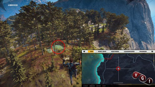 Just Cause 3 карта с местонахождением гробниц в Libeccio