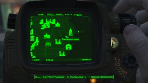 Fallout4 местоположение Court 35 на карте