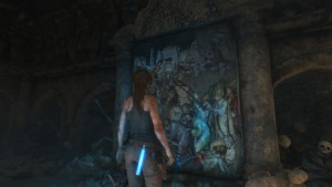 Rise of the Tomb Raider найти фрески сирии