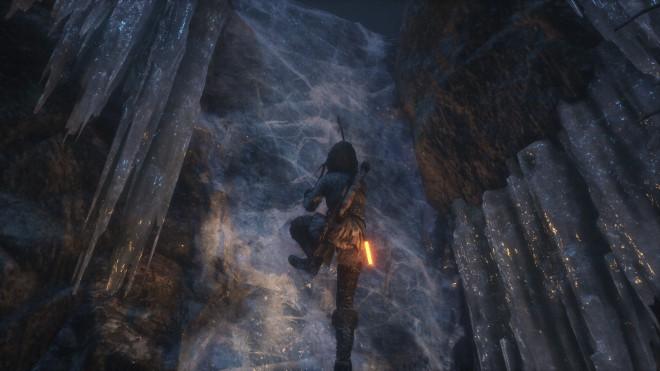 Rise of the Tomb Raider Ледяная пещера