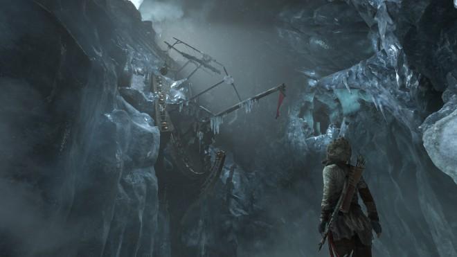 Rise of the Tomb Raider Ледяной Корабль