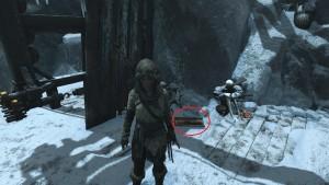 Rise of the Tomb Raider документы Ледяная пещера
