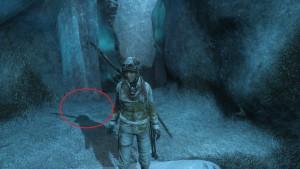 Rise of the Tomb Raider поиск документов в Ледяная пещера