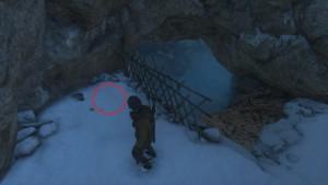 Rise of the Tomb Raider найти документы Ледяная пещера