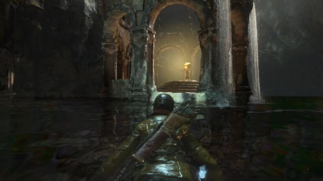 Rise of the Tomb Raider где отыскать гробницы древняя цистерна