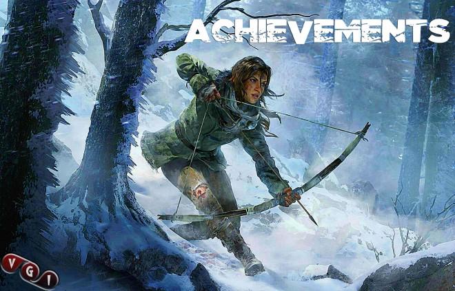Rise of the Tomb Raider Достижения и трофеи