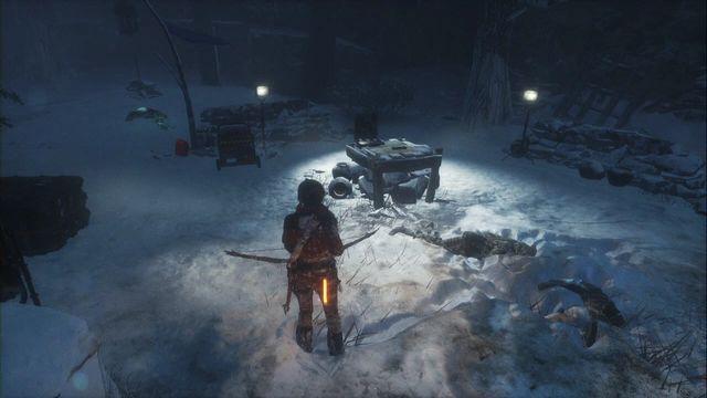 Rise of the Tomb Raider где найти документы северная глушь