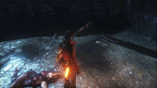 Rise of the Tomb Raider местонахождение документов в северная глушь